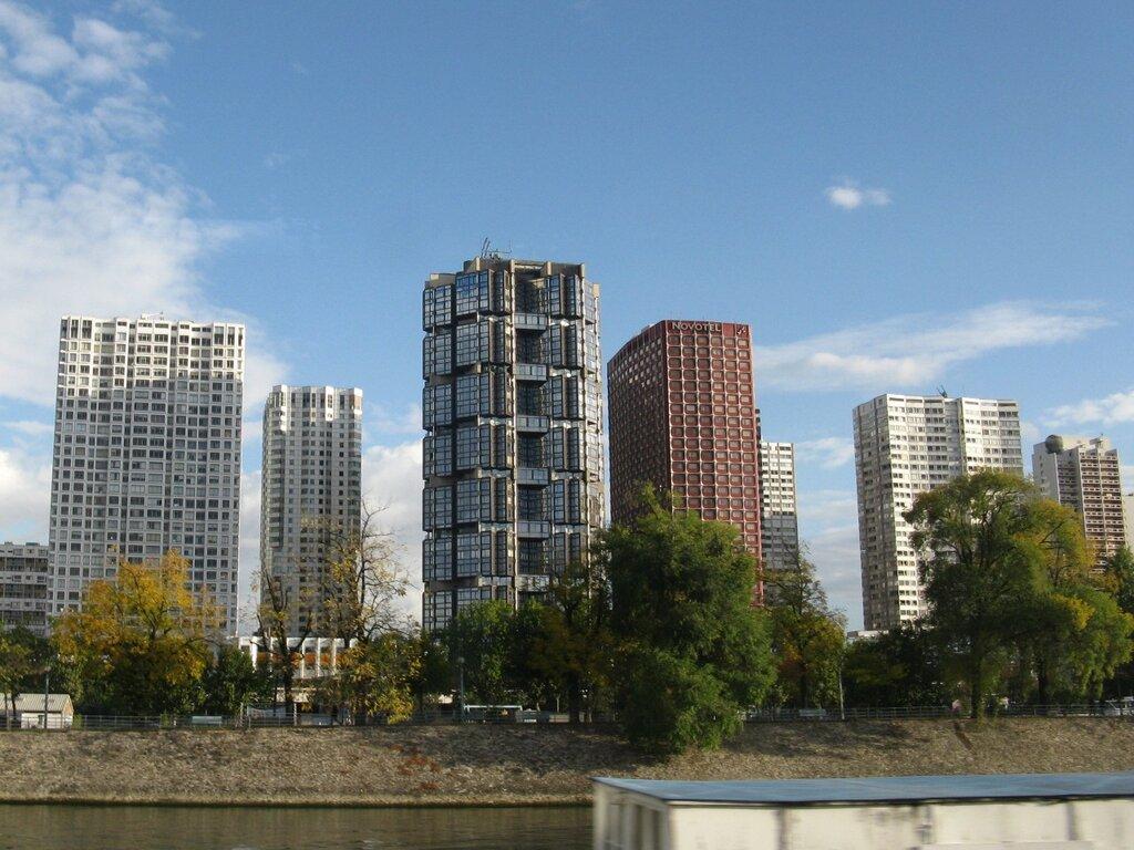 Набережная Parc des Rives de Seine