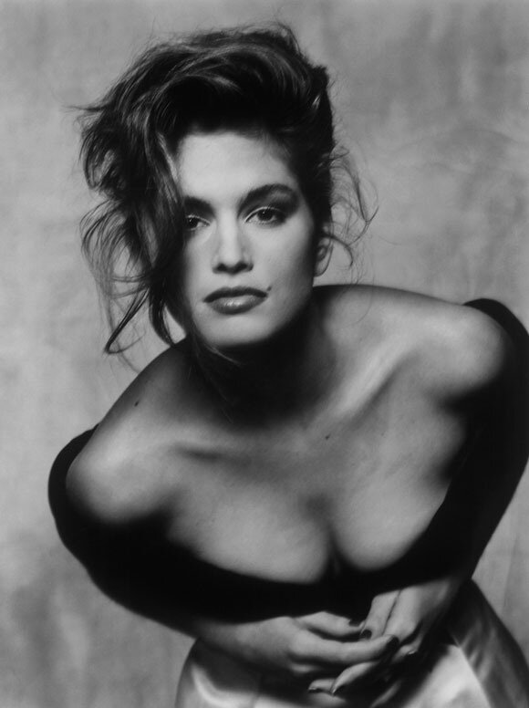 Cindy Crawford, 1988, by Terence Donovan