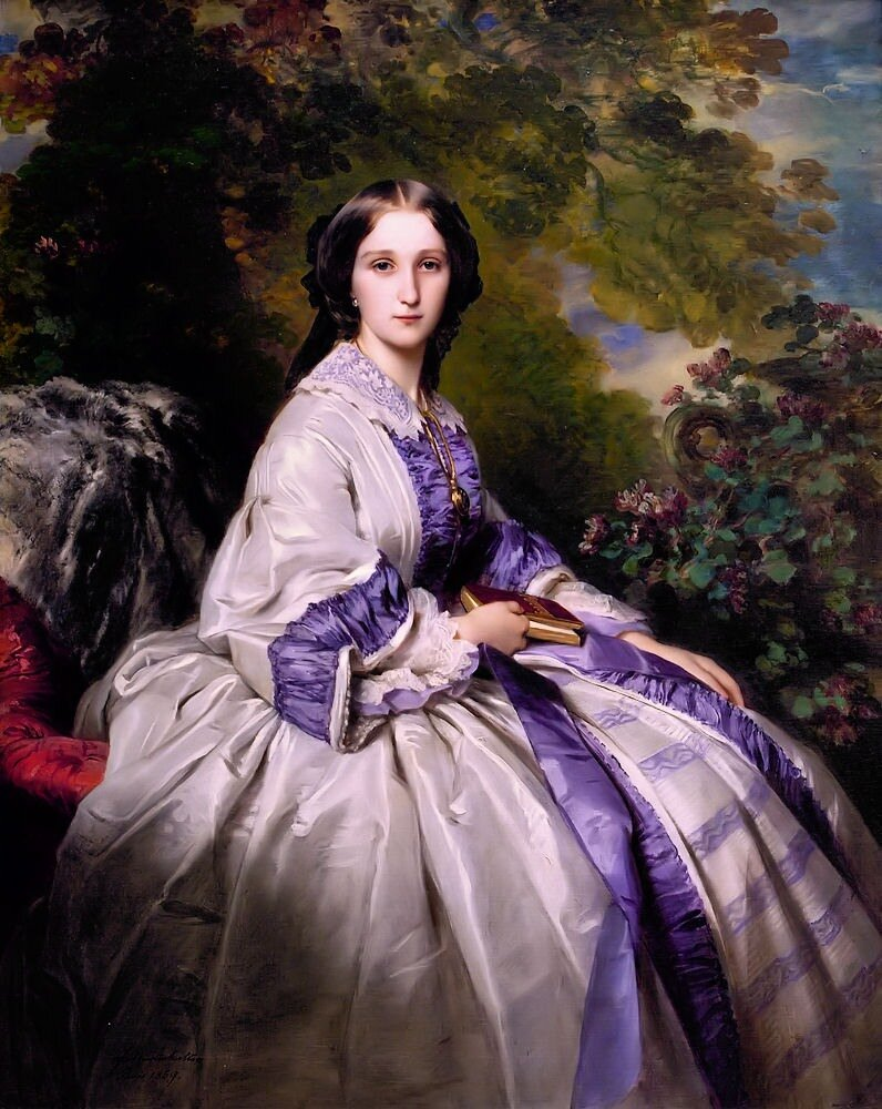 Franz Xaver Winterhalter Countess Alexander Nikolaevitch Lamsdorff 1859