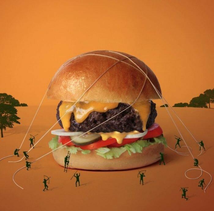 Картинки на тему еда прикольные