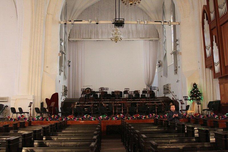 органный зал в Калининграде