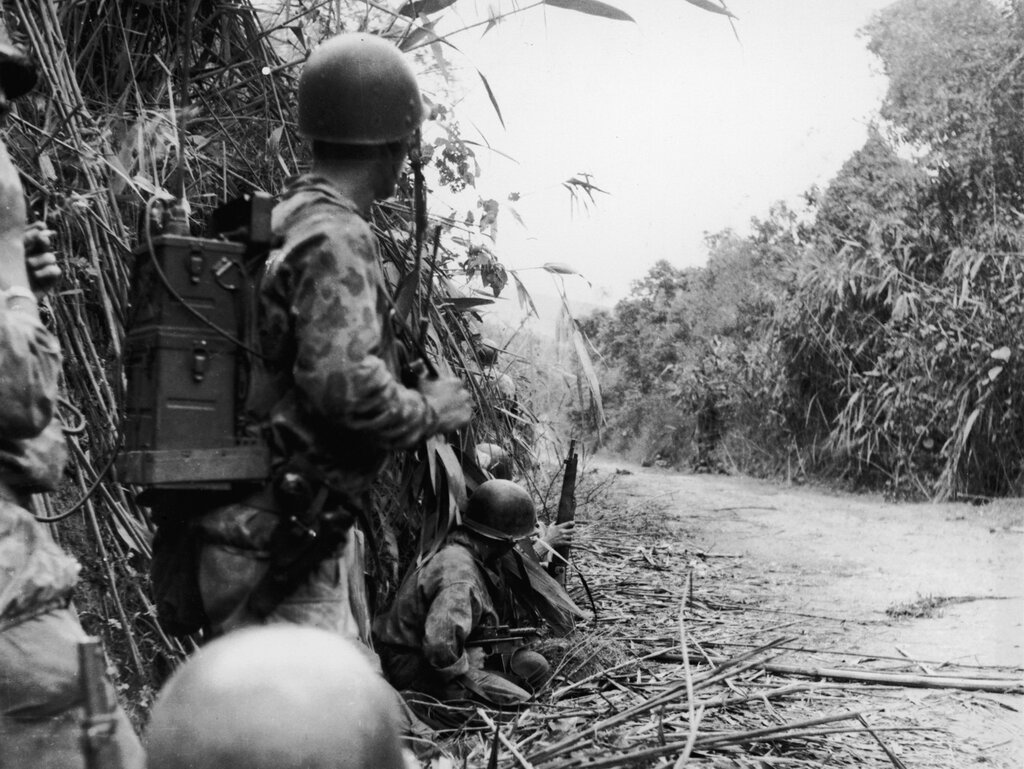 Paratroops In Indochina