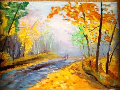рисунок Светланы Демитревой