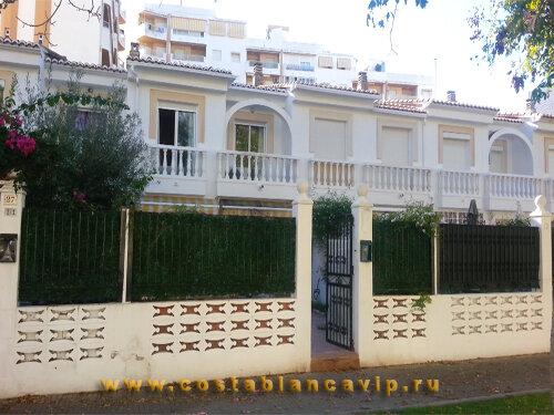 таунхаус в Gandia, таунхаус в Гандии, таунхаус на пляже, таунхаус на пятой линии пляжа, недвижимость в Испании, квартира в Испании, недвижимость в Гандии, Коста Бланка, CostablancaVIP, цена, таунхаус, городской дом