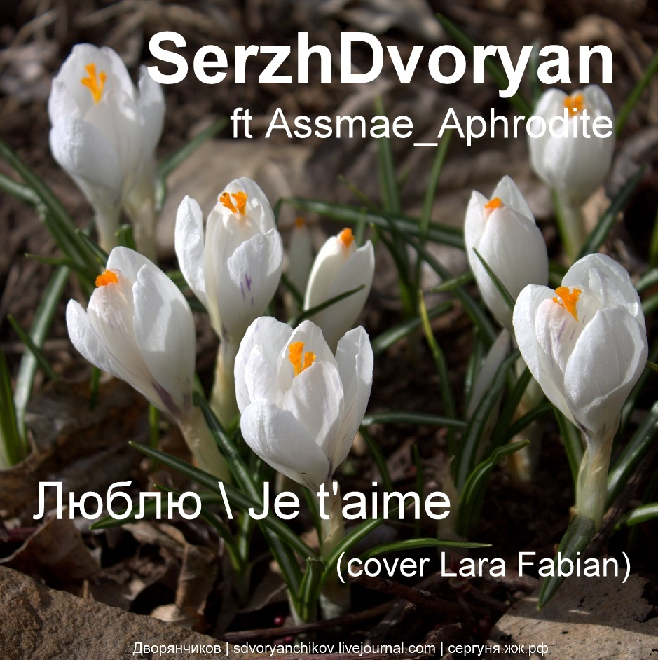 Люблю (Je T'Aime) - Обложка для SoundCloud