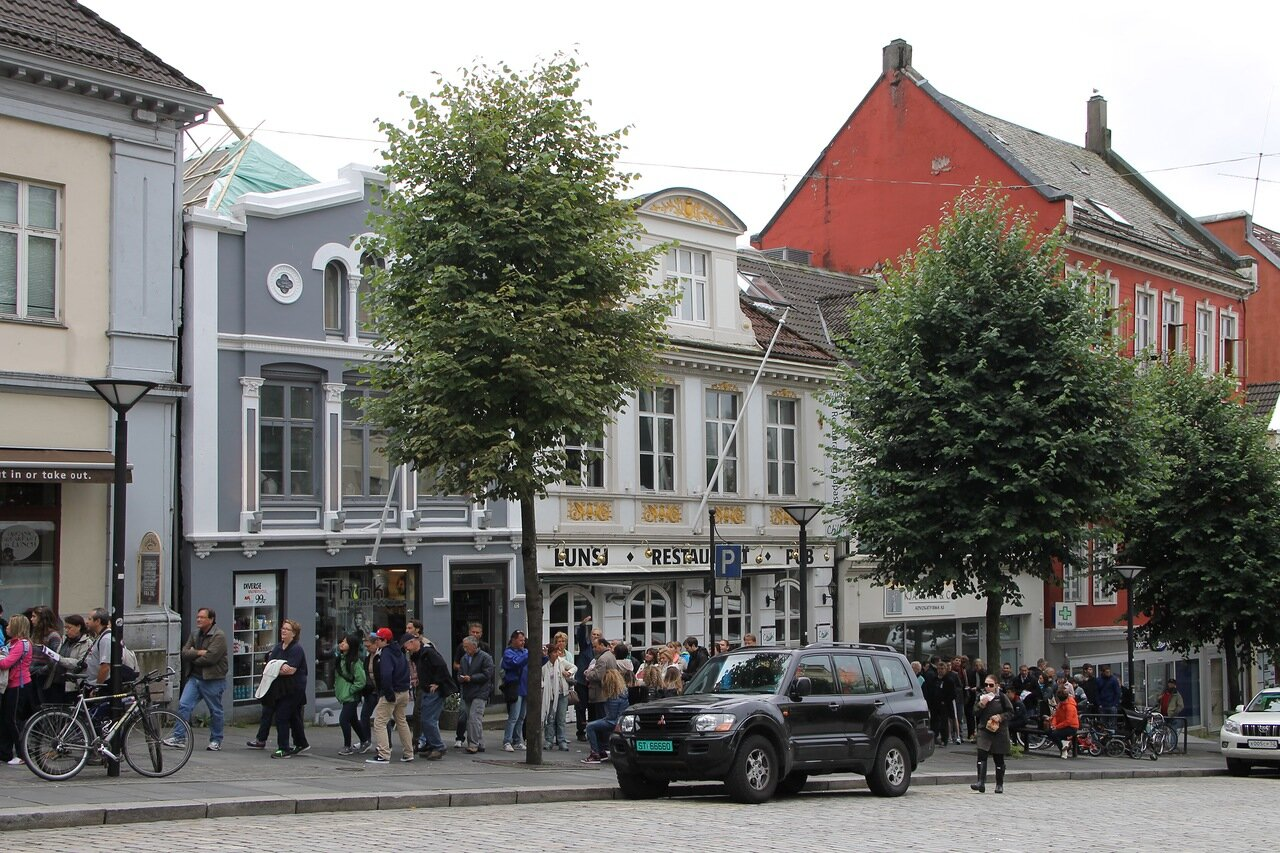 Bergen, Берген, Vetrlidsallmenningen,