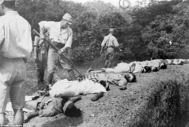 Япония не следовала правилам Женевской конвенции в отношении военнопленных, в результате чего десятк