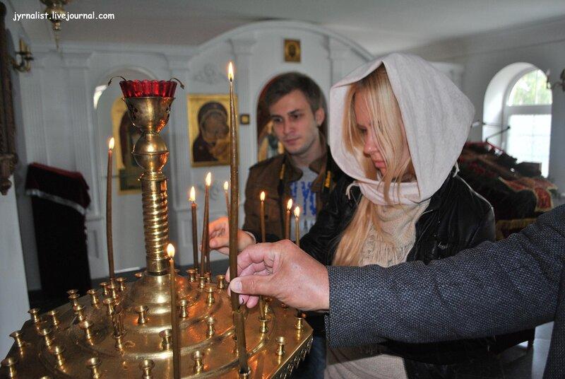 Свято-Иоанно-Предтеченский мужской монастырь в селе Чугинка Станично-Луганского района Луганской области