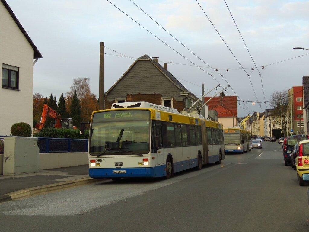 Троллейбус города Золинген
