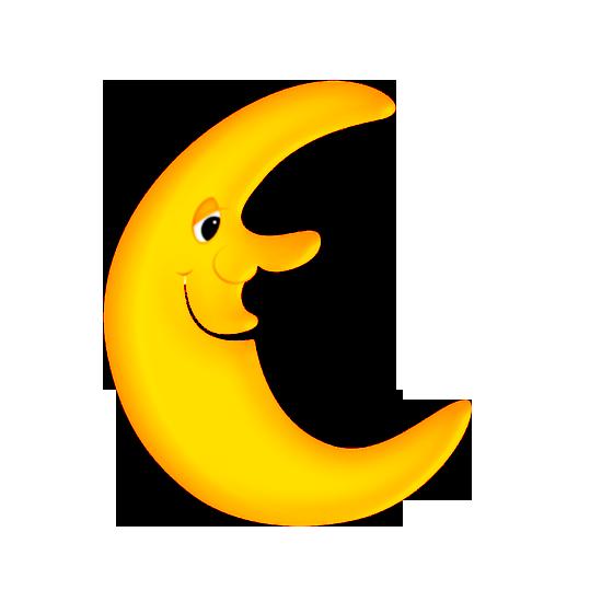 картинки детские луна