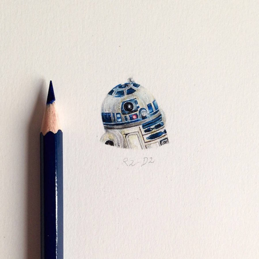 Tiny Star Wars Illustrations (7 pics)