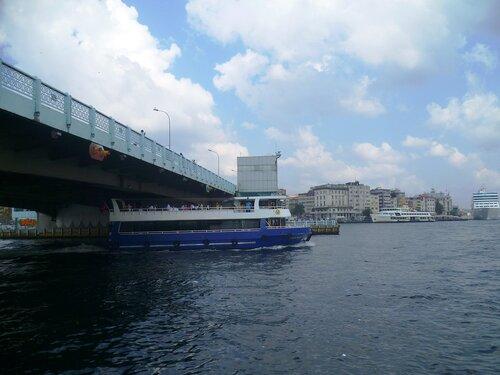 Стамбул .Галатский мост (Istanbul. Galata Bridge).
