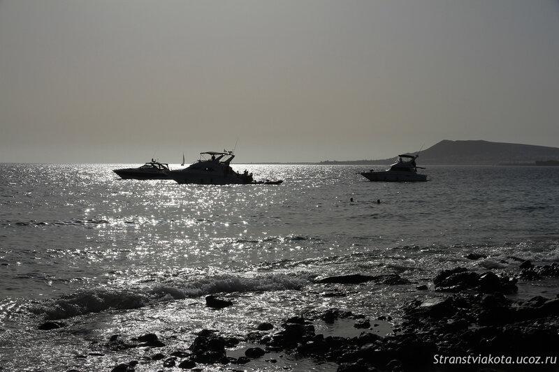 Лансароте, Пляжи Папагайо