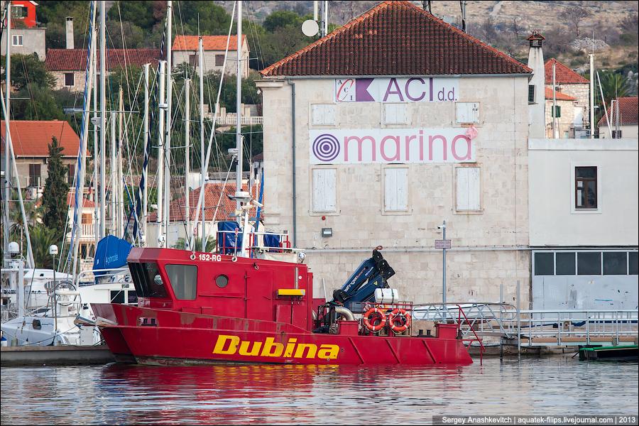 Яхтенные марины Хорватии