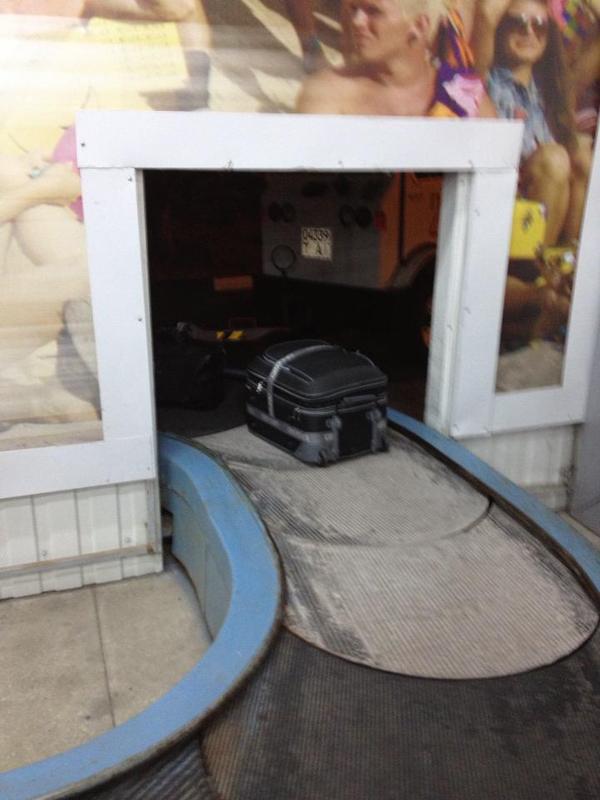Багаж в Симферополе