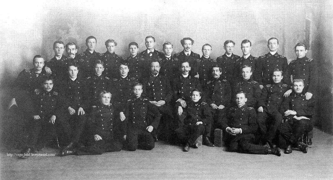Выпуск Архангельского мореходного училища 1911 года