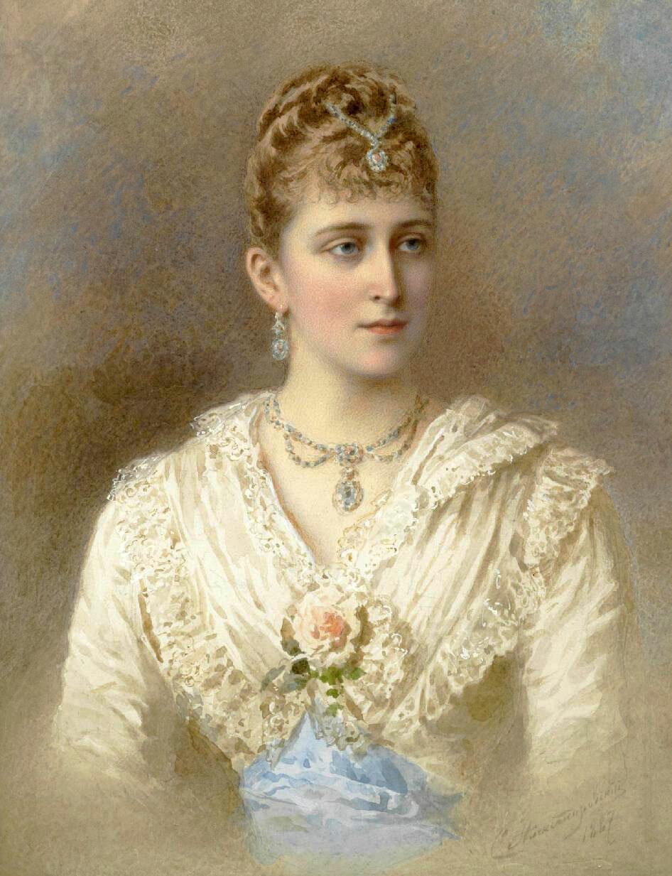 Степан Фёдорович Александровский (1842–1906). Великая княгиня Елизавета Фёдоровна