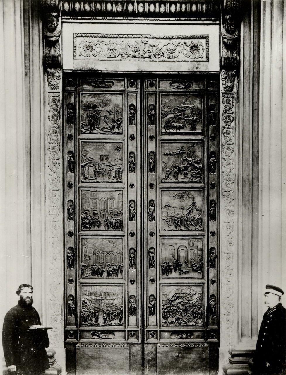 Казанский собор. Флорентийские (Райские) врата