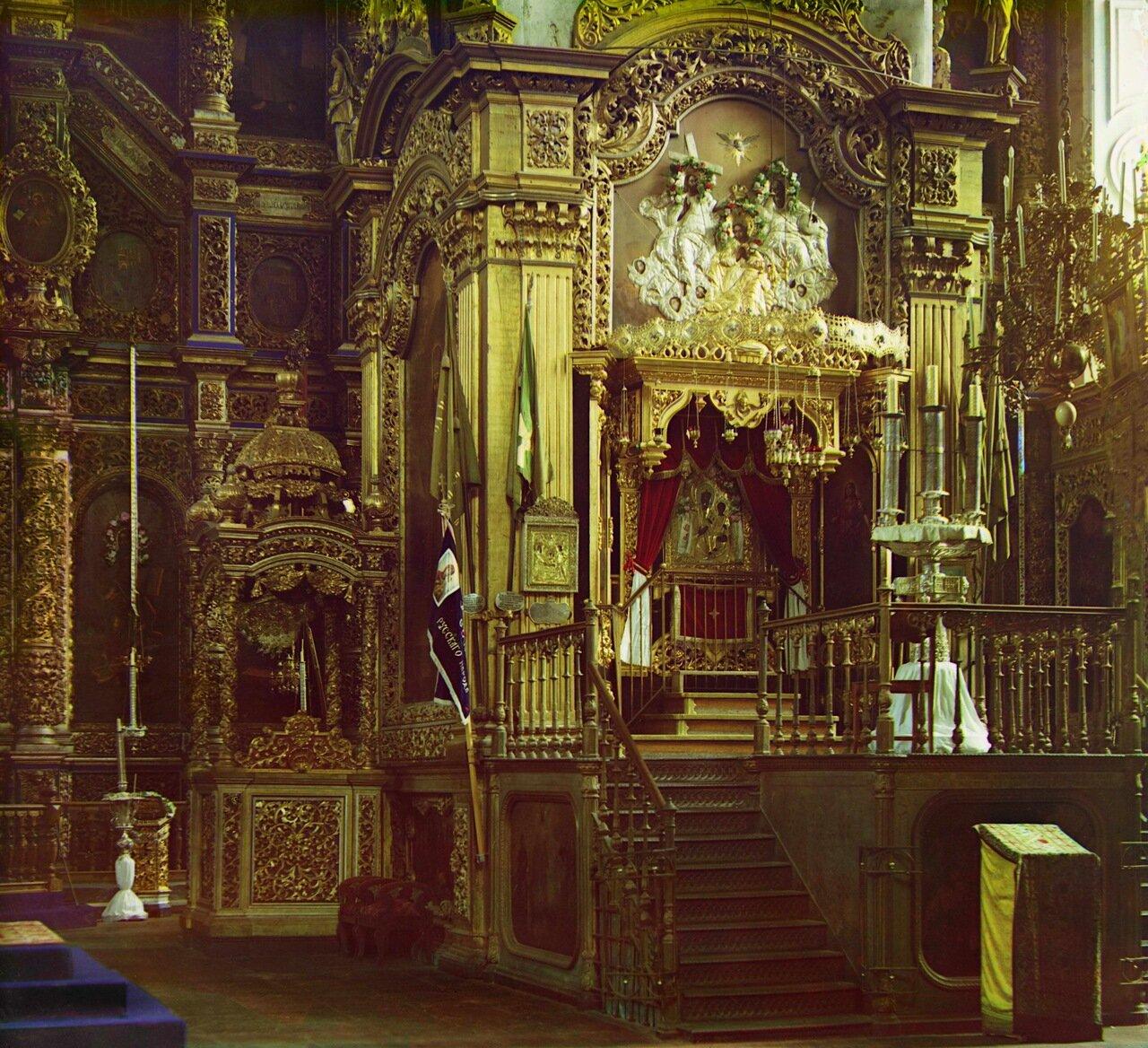 Чудотворная икона Божьей матери Одигитрии в Успенском соборе