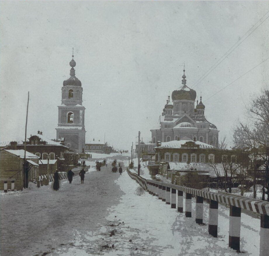 Вид города