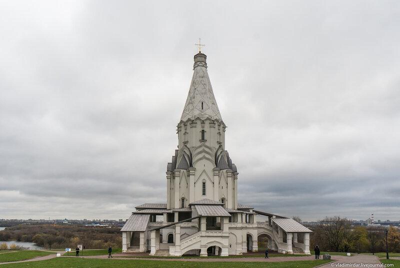 Церковь Вознесения Господня - Коломенское - объектив Sony SEL-1018 10-18 mm F/4 OSS