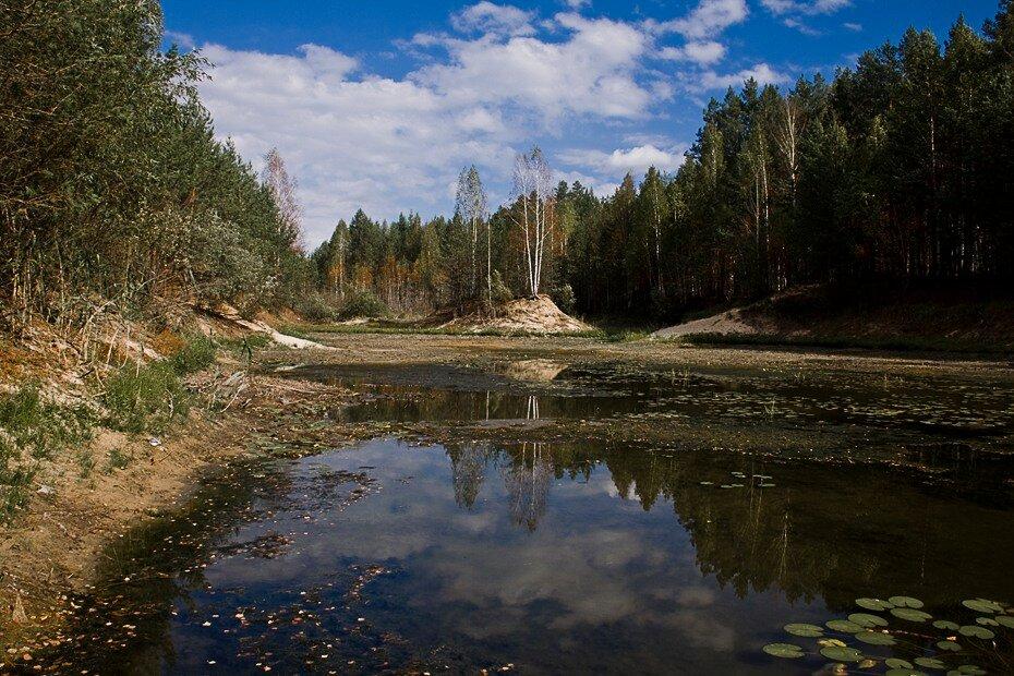 По пути на озеро Глухое