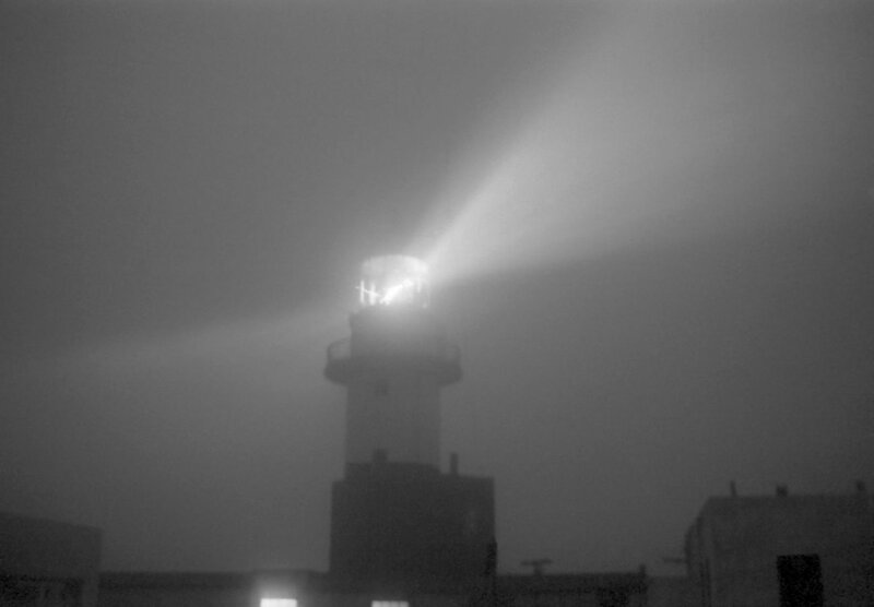 """""""Маяк Шпанберга в тумане. Мыс Краб. О. Шикотан 1975г."""""""