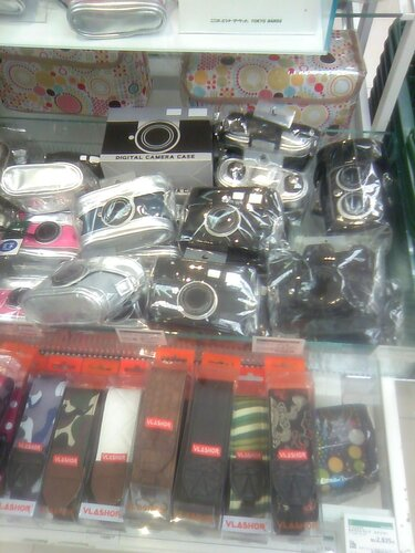 стилизованные чехлы для фотоаппаратов