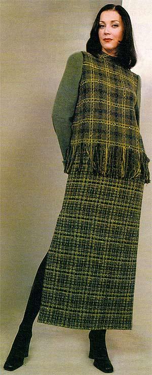 Выкройка платья с длинным рукавом для девочки.