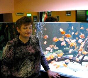 Мама и аквариум