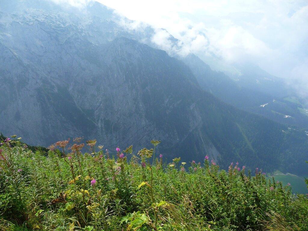 Вид с горы Келльштайн, свыше 1800 метров.