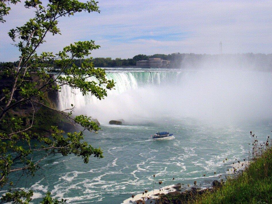 Ниагарский водопад-1