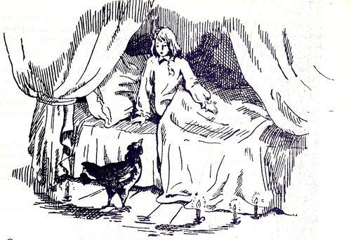 Иллюстрация Чернушка и Андрей