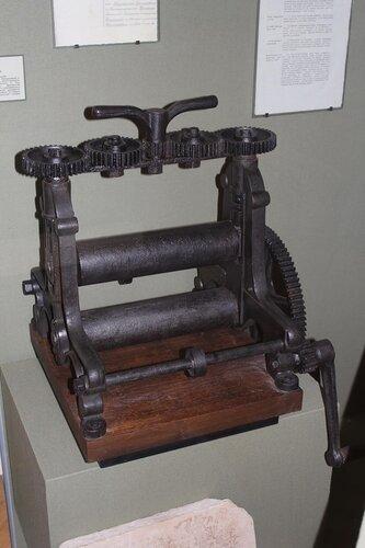 Литографический станок для печати фальшивых денег