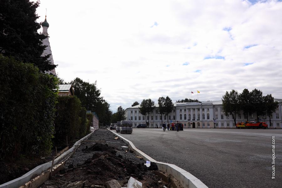 Советская площадь в Ярославле