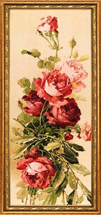 К. Кляйн. 143. Розы.
