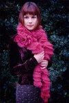 Podarok.  Объемные шарфики.  Фотографии в альбоме.
