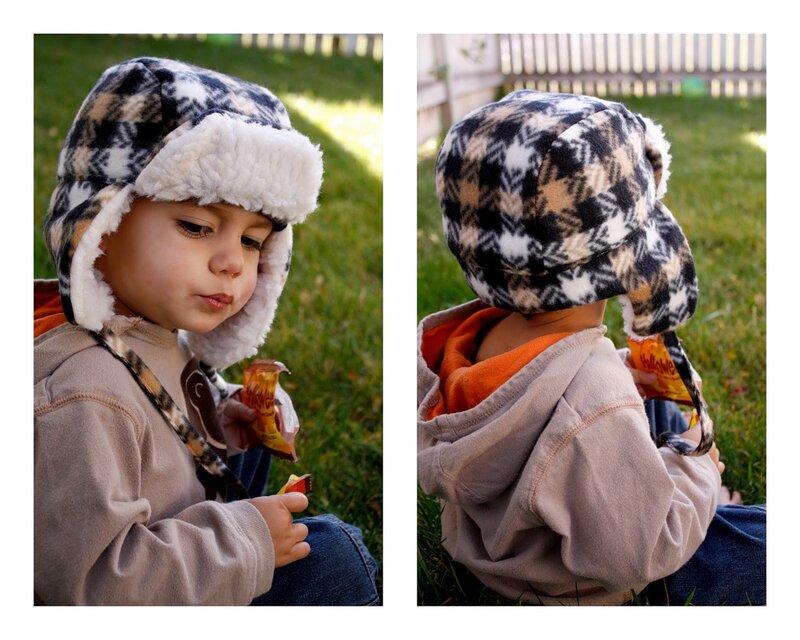 выкройка шапки для мальчика