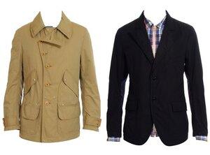 мужской приталенный пиджак выкройка.