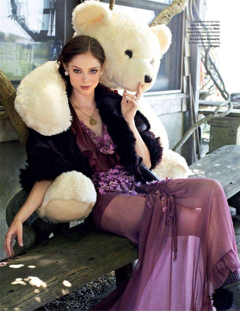 модель Коко Роча / Coco Rocha, фотограф Arthur Elgort