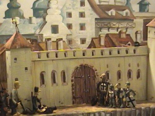 Кадр из мультфильма «Однажды в Риге»
