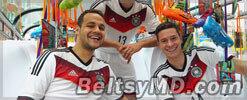 Сборная Германии выступит на ЧМ-2014 в белой форме
