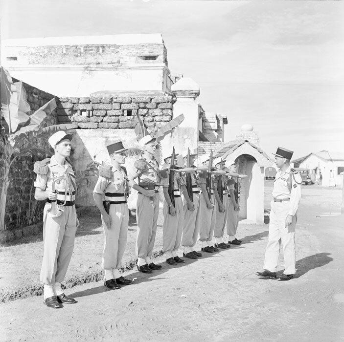 Le capitaine commandant le 1er bataillon du 3e REI