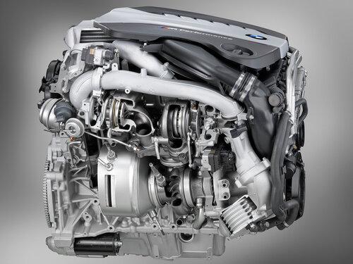 Tri-turbo дизель BMW N57S