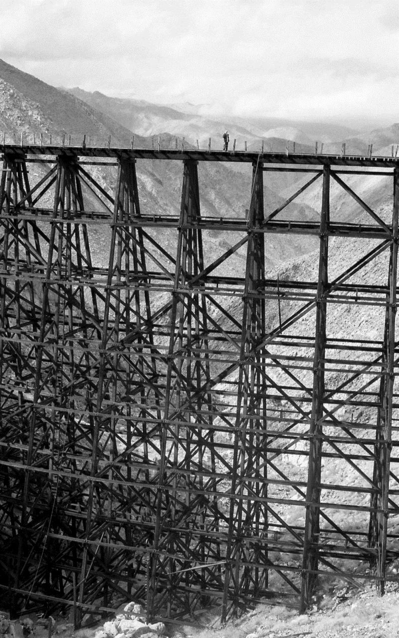 Самый высокий деревянный мост-эстакада