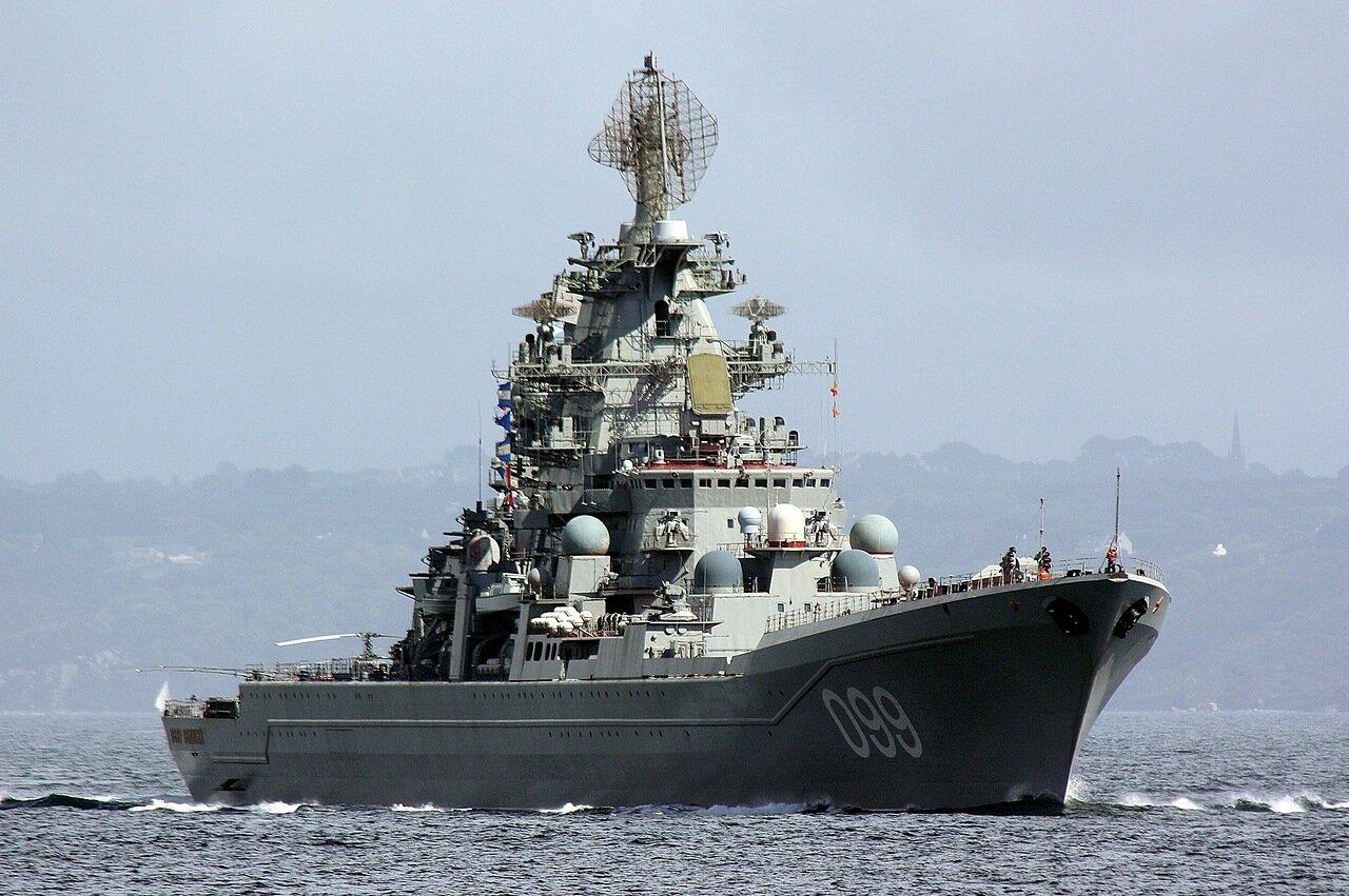 Cruzador nuclear classe Kirov: Pyotr Velikiy / Pedro o Grande – Marinha russa
