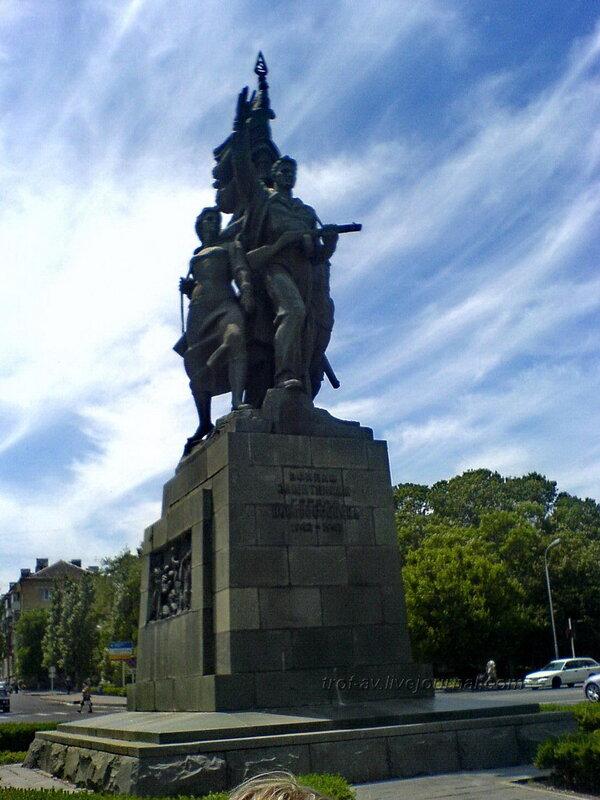 Памятник освободителям Новоросссийска
