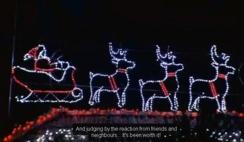 Арт-инсталляция к Рождеству в полмиллиона огней