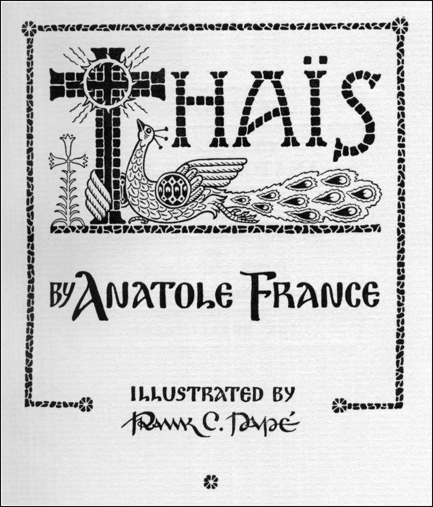 Frank C. Pape, Thais