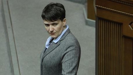 Савченко повстречалась сшестью украинскими военнопленными вДНР